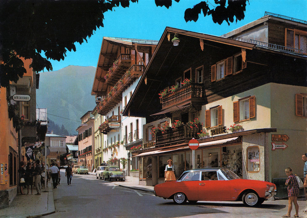 Ford                 Taunus 17m P3 Zell am See